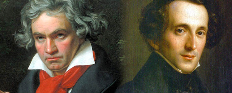 Beethoven and Mendelssohn