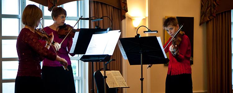 Florida Chamber Music Project preseason fundraising social